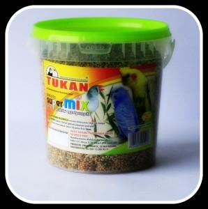 Super mix dla ptaków 1000 ml